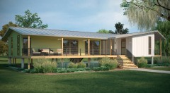 Palm Harbor Homes builds modular home for Greenbuild Internation Conference & Expo in New Orleans.