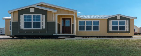 The Bonanaza manufactured home