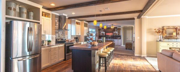 Gourmet kitchen from Palm Harbor Homes