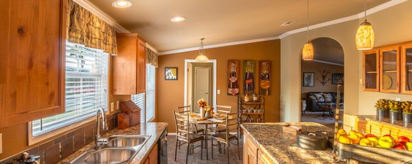 Nwe home by Palm Harbor Homes