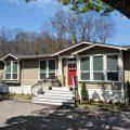 Award-winning Lakeport Model by Palm Harbor Homes in Millersburg, Oregon,